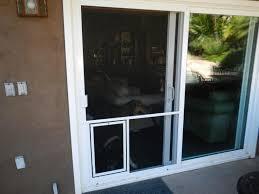 door sliding door pet door theflowerlab interior design dog door