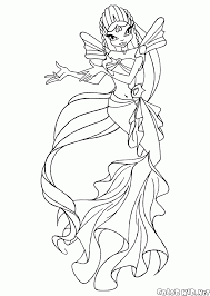 coloring page sirens sing