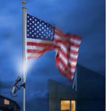 solar led flagpole light solar flag pole lights