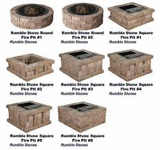 Fire Pit Kits For Sale by Outdoor Fire Pits Fire Pit Granite