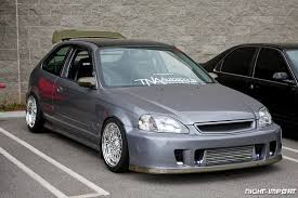 grey honda civic hatchback polished bbs rs jpg 1 024 683 pixels