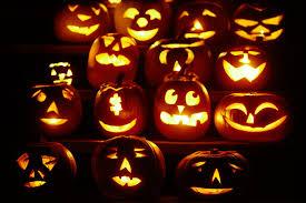 halloween background split monitor halloween pumpkin backgrounds wallpaper wiki