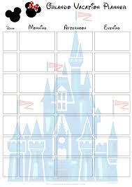 disney trip planner spreadsheet laobingkaisuo com