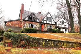 English Tudor Homes Fairfield County Real Estate News Traditional English Tudor In