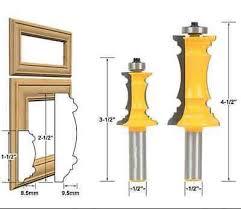 cabinet door router jig 2 bit raised panel cabinet door router bit set 1 2 shank 0001