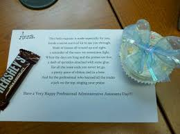 administrative assistant day poem and gift crafts