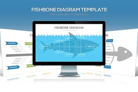 fishbone diagram powerpoint template by slidefactory on envato