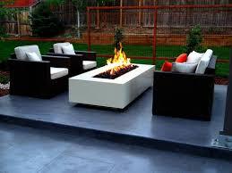 Modern Backyard Ideas Triyae Com U003d Modern Backyard Fire Pit Various Design Inspiration