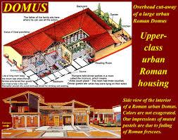 roman insula floor plan housing