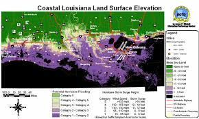 louisiana elevation map elevation map usa my elevation map us states map of usa