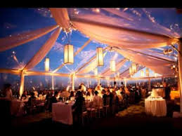 wedding tent easy wedding tent decorations