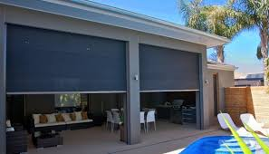 External Awning Blinds Window Cxoverings For Screened In Patio Zipscreen Outdoor Roller