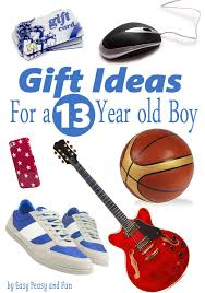 gifts for best gifts for a 13 year boy easy peasy and