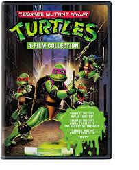 amazon com 4 film favorites teenage mutant ninja turtles