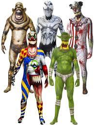 Halloween Monster Costume by Morphsuit Monster Mens Halloween Robot Zombie Fancy Dress