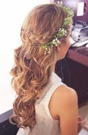 flowergirl hair half up flower hair as you wish flower girl