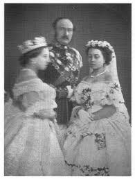 Daughter Nervous Queen Victoria And Prince Albert At The Wedding Of Their Eldest