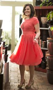 plus size coral dress for wedding 60 curvy fashion and ideas autumn dresses