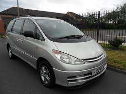 used toyota previa manual for sale motors co uk
