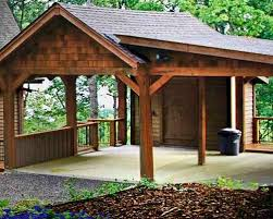 How To Build A Detached Garage Howtospecialist How To by Best 25 Lean To Carport Ideas On Pinterest Patio Shed Roof