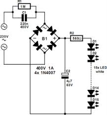 led light circuit diagram 230v circuit diagram images