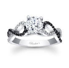 black diamond wedding set black diamond wedding ring barkevs black diamond engagement ring