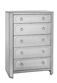 Hayworth Mirrored Chest Silver by Excellent Chest Of Drawers Mirrored Cabinets Kinofabrica