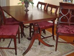 Wood Dining Room Tables And Chairs Best 25 Duncan Phyfe Ideas On Pinterest Dining Table Makeover
