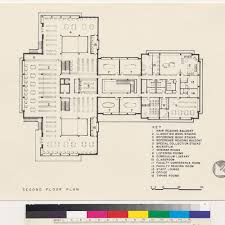 calisphere dominican college library second floor plan san