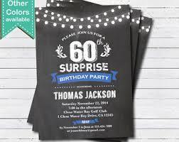 40th birthday invitation man or woman surprise birthday