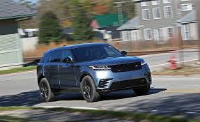 land rover velar blue 2018 range rover velar in depth model review car and driver
