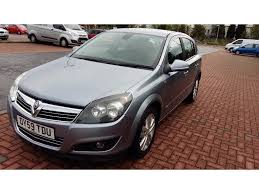 vauxhall grey used vauxhall astra hatchback 1 6 i 16v design 5dr in shotts