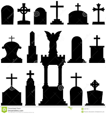 halloween black and white background drawn headstone black and white pencil and in color drawn