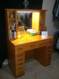 vanity table with lighted mirror and bench bedroom design bedroom small vintage vanity table mirror bench in