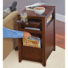 side table for recliner chair furniture side table for recliner wedge table walmart com
