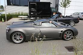 pagani huayra carbon edition pagani huayra nurburgring edition spied testing more powerful amg