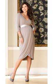 tulip maternity dress pale grey maternity wedding dresses