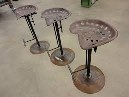 Tractor Seat Bar Stools For Sale Rustic Tractor Seat Bar Stools Home Design Ideas