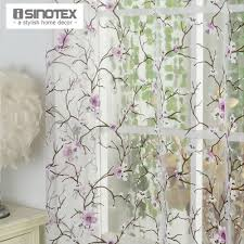 aliexpress com buy 1pcs lot isinotex window curtain plum flower