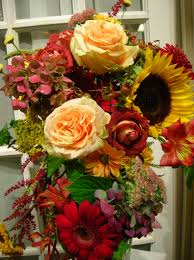 Fall Flowers For Wedding Flower Bouquet Tropical Flowers For Thanks Giving Arranging F