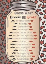 free printable u0027how well do you know the bride u0027 hen party