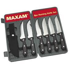 maxam kitchen knives maxam maxam 8pc knife set skhunt8 aaman s vista catalog