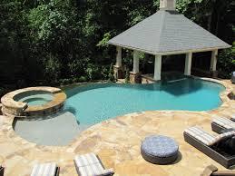 atlanta pool builder custom swimming pool with vanishing edge