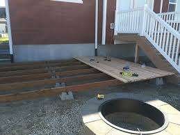 How To Build A Deck Handrail To Build A Simple Diy Deck On A Budget
