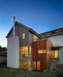 dc metro house siding options exterior contemporary with concrete