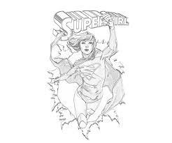 fresh supergirl coloring pages 20 remodel coloring pages