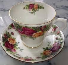 roses china royal albert