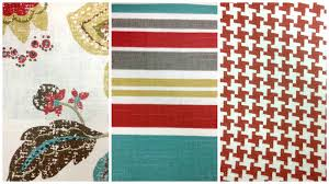 fabric patterns livelovediy decorating tips how to combine pattern