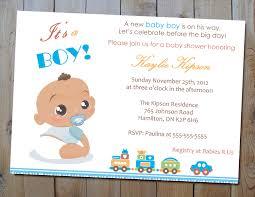boy baby shower invitations baby shower invitation for boy sansalvaje