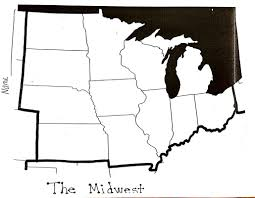 Map Of The Midwest Midwest States And Capitals Test Mrs Christian U0027s Corner